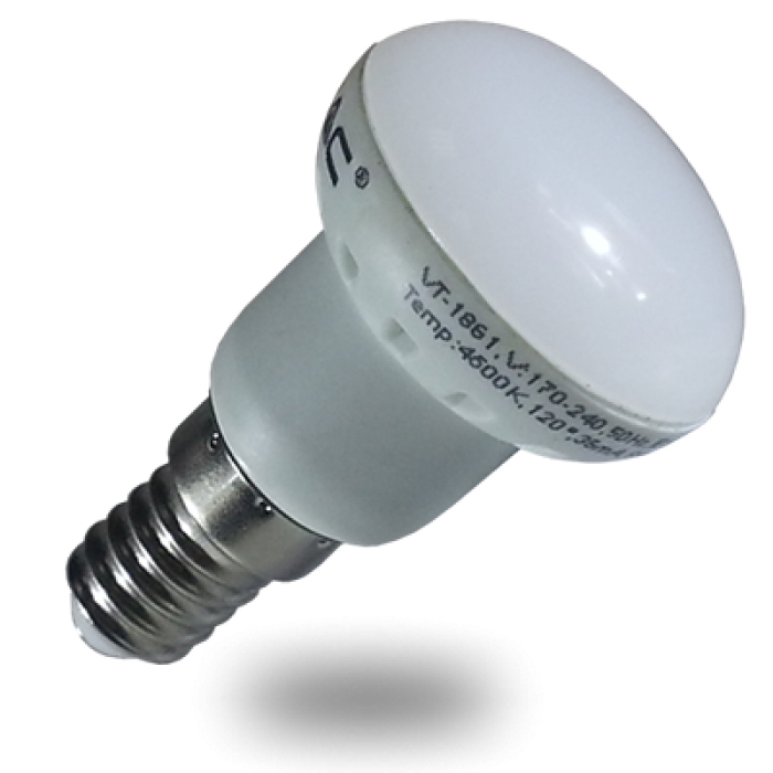 Led lamp e14 r39 3 watt warm wit het ledmagazijn for Led lampen 0 5 watt