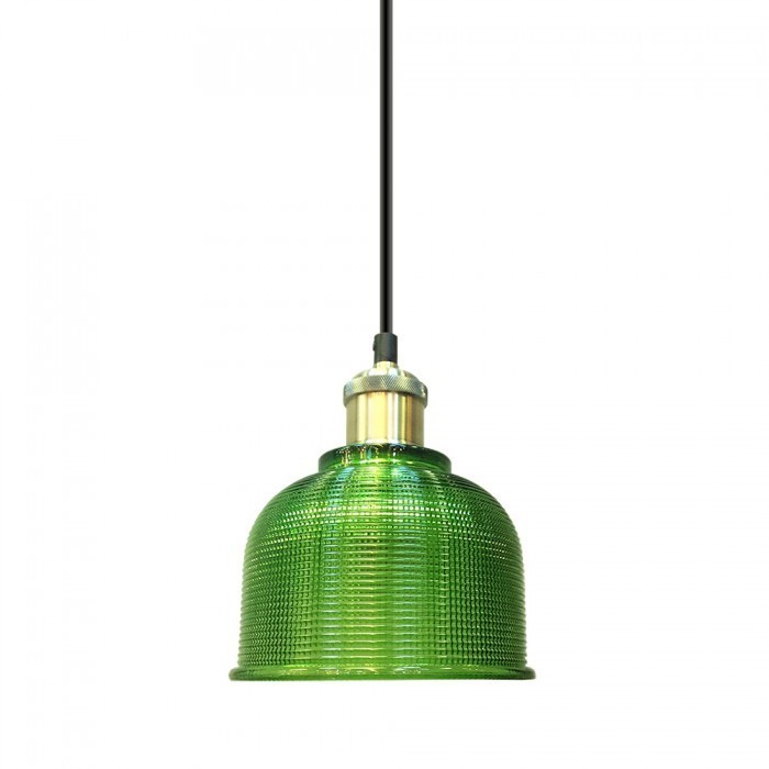 Hanglamp Glas Groen - Het Ledmagazijn