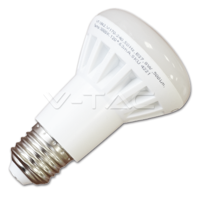 Led lamp E27/R63-8 Watt -Warm wit-500 Lumen