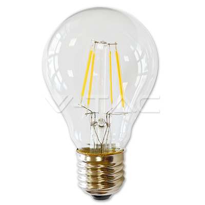 Led filament lamp E27 4W Warm-w 400 Lumen (Dim)
