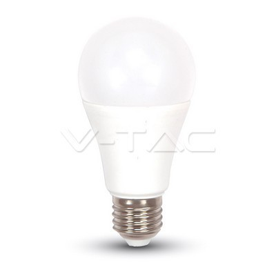Led lamp E27/A60-9 Watt -Warm wit-806 Lumen Sensor