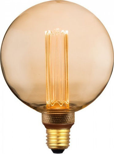 Led Art Filament Amber Cover E27 4W G125